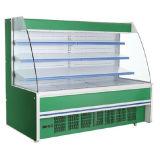 野菜のための空気冷却のスーパーマーケットのMultideckの開いたスリラーはまたは実を結ぶか、または搾り出す