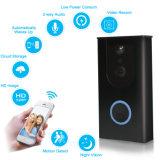 HD720p de la puerta de WiFi teléfono inalámbrico WiFi Monitor PIR Editable de la sensibilidad de timbre de llamada de vídeo
