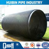 新しいデザイン高密度HDPEによってより合わせられる溶接された増強された管