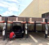 2 автоматических двойных штабелеукладчик столба подъема 4 стоянкы автомобилей автомобиля платформы