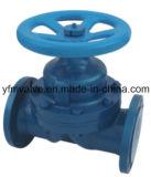 Тип мембранный клапан плотины G41 выровнянный PFA