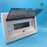 10-12 빛 전기 배급 상자 플라스틱 MCB 상자를 가진 방법