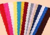숙녀의를 위한 Dress 도매 형식 6-8cm 탄력 있는 다중 색깔 레이스