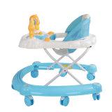 Três cores grande roda bebê Walker grossista do Transportador