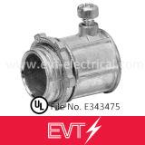 Couplage de conduit de la vis de réglage EMT de zinc