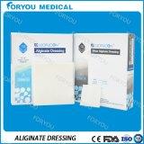 Huizhou Foryou Medical absorbe el líquido de la Herida de iones de calcio en las úlceras del pie diabético apósito de alginato vendaje hemostático médicos