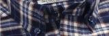 Les hommes Top-Quality Long-Sleeve vérifié de printemps de chemises de flanelle Loisirs occasionnels