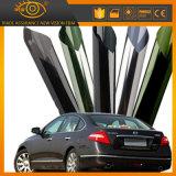 2ply carbón Anti-Scratch reflectante de 5% de la ventana de coche película de tinte metálico