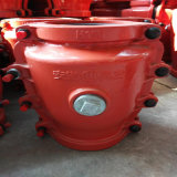 Bride H150, couplage de réparation de pipe, bride de réparation de fuite de pipe, bride de réparation de pipe de pipe de réparation pour la pipe de fer de moulage et la pipe malléable de fer, réparation rapide disjointe de pipe
