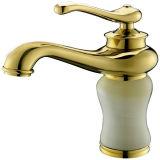 Salle de bain Golden Mélangeur du bassin à poignée unique