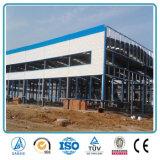 La luz de almacén de prefabricados de acero de Edificio con Panel Sandwich