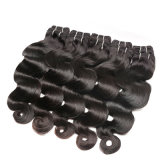 extensión brasileña verdadera del pelo de la onda de la carrocería del pelo humano de la venta caliente 7A