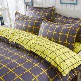 Het goedkope Vastgestelde Beddegoed van de Slaapkamer van de Polyester Microfiber