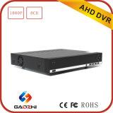 2MP 8CH Grabador de Video Digital Software de Cliente Libre H. 264 DVR
