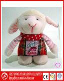 Jouet en peluche mignon doux agneau avec l'oeil brillant