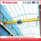 Weihua Type européen poutre unique passage pont roulant avec palan électrique