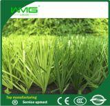 Hierba artificial sintética multicolor del fútbol (fabricante de Wuxi)