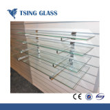 階段または手すりまたはテーブルの上のための12mmの明確な強くされたガラス