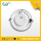 A luz de painel magro super 6W do diodo emissor de luz refrigera a luz