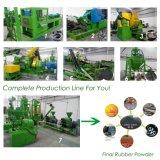 Resíduos de pó de reciclagem de pneus reciclados para linha de pó de borracha