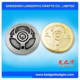 Moneda del metal de la alta calidad del diseño de la manera en el precio barato