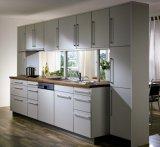Gabinete de cozinha da placa de partícula do tratamento do preço de Diretly da fábrica (ZHUV)