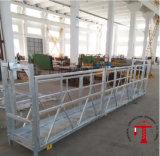 Plataforma de Trabalho suspenso com cabos adicionais