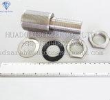 Ugello del filtro dall'acciaio inossidabile di alta qualità per il trattamento delle acque