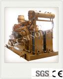 Combustível de baixa energia de espera de fábrica Comsuption 400kw baixo do conjunto de geradores de gás de BTU