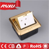 Britisches Standard Pop oben Floor Outlets Socket (Copper Alloy Material)