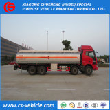 HOWO T5g 8X4 Топливная автоцистерна 18000L алюминиевый нефтяного танкера погрузчика