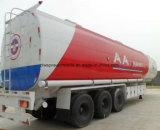 42000L Depósito de aceite personalizado remolque cisterna semi remolque triple eje para la exportación