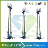 10m Céu rebocável hidráulico eléctrica amovível de plataformas de elevação