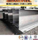 De acero laminado en caliente Ss400 estándar de acero H Precio viga
