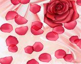Big romantique rose murales en 3D pour la maison Décoration florale