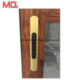 Porta de tela deslizante Coplanar de alumínio de vidro da fábrica Baixa-e