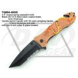 """4.5は"""" 3D印刷のみょうばんのハンドルが付いている想像のナイフを閉じた: Tq894-45gd"""