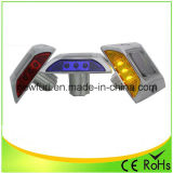 Solar Powered 4/6 flash LED reflectante Camino Stud