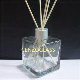 Bottiglia di vetro del diffusore a lamella quadrato caldo di vendita 200ml (ZB857)