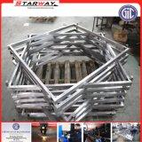 Metal inoxidable de la placa de la hoja del rodillo de la estructura de acero de la foto del cuadro del escritorio del vector de la silla de la puerta de la bici