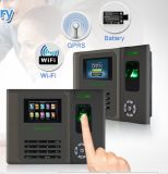TFT Color Screen Fingerprint RFID Time Atendimento com Li-Battery (GT200)