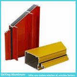 Profil de anodisation d'aluminium de couleur de différence d'usine en aluminium professionnelle