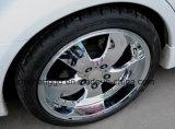 コータを金属で処理する手段の車輪の縁PVD