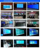 """49は"""" LCDスクリーンが付いているLCD TVの壁にパネルをはめた"""