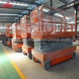 300kg de 6-14m China Superventas eléctrico hidráulico de elevación de la Escalera de tijera con Ce Certificación ISO