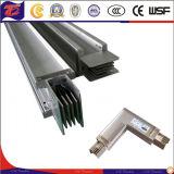 Busduct de aluminio con la capa azul E- Expoxy Aislamiento con soporte de acero