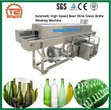 Cerveja de alta velocidade automática do frasco de vidro de Vinho, Máquina de Lavar Roupa