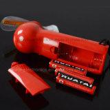 Mini ventilateur rechargeable portatif tenu dans la main avec l'éclairage LED (3509)