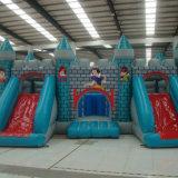 Princesa inflable Bouncer con la diapositiva