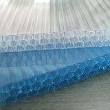 UV Bescherming 12mm Comités van het Polycarbonaat van de Honingraat